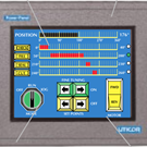 HMI Touch Screen Panel | Uticor PGI100 Series