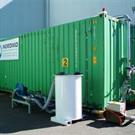 Fumigation & Recapture Chamber for Containers