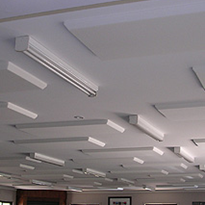 Plano Contour Ceiling Tiles | Adherable Acoustic Products