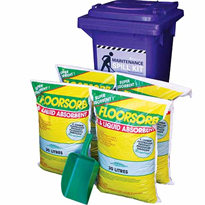 Spill Kit - with Floorsorb 60L Absorbent Capacity (SKH120FS7)
