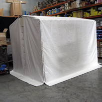 Welding Tent with Free Anti Fatigue Mat | Flexshield