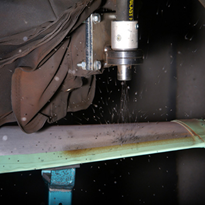 ABSS leads the way in robotic shot peening