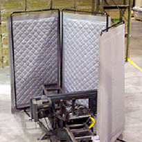 Industrial noise barriers
