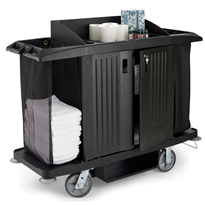 Rubbermaid Housekeeping Trolley Hotel Housemaid Maid Carts 6189