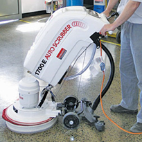 "16"" 240V Walk Behind Scrubber for Hire 