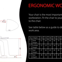 Setting up an ergonomic workstation