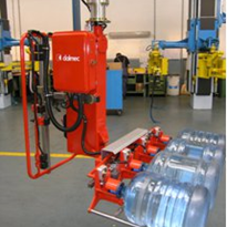 Industrial pneumatic lifter for handling bottles, casks, containers