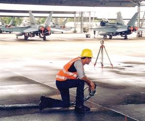 In Australia Uretek structural resin injection work has been carried out at many airports.
