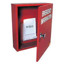 Emergency Information Cabinet - Large