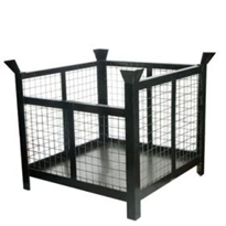 Pallet Stillage | Mesh Infill Rigid