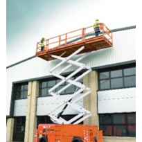 Rough Terrain Scissor Lifts - S3290RT, S4390RT & S5290RT
