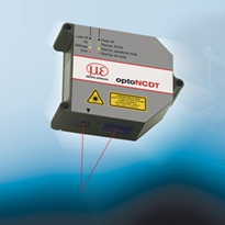 High Speed Non-Contact Laser Displacement Sensor - By Micro-Epsilon