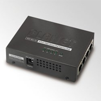 4-Port Gigabit High Power PoE Injector Hub - PLANET HPOE-460