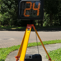 "Speed Awareness Sign | Speed Monitorâ""¢ IV"