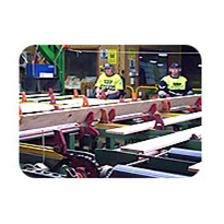 Board Production Line | Shark Fin Turning System