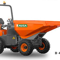 Articulated Chassis Dumpers - AUSA 3000-4000Kg