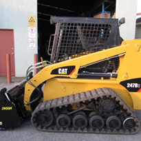 Used Skid Steer Track Loader - Caterpillar 247B2 2008 Model