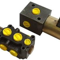 3 & 6 Port Electronic Selector Valves - Poclain