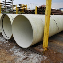 Fibreglass Pipe - 1400mm