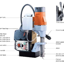 Semi Auto Feed Magnetic Drilling Machine | MD300