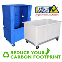 Limiting your materials handling carbon footprint