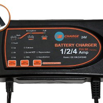 24 Volt Battery Charger | OC-SW121040 : Charger & Maintainer