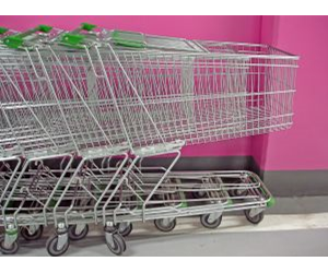 Empty trolleys: Australia's food manufacturers are struggling to battle weak consumer spending.