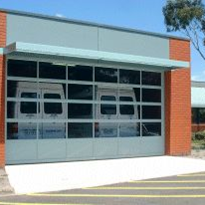Sectional Overhead Doors | Industrial Aluminium Sectional Door