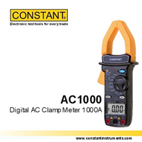 Digital AC Clamp Meter | AC1000