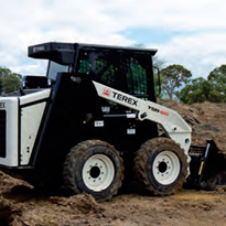 Terex Skidsteers: engineered to give you more of what you want