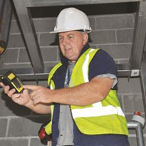 Hired gas detector protects in confined space