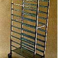 Platter Trolley | Stainless Steel  | 12 Tier | TSS/015