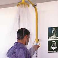 Enware Stainless Steel Combination Emergency Shower
