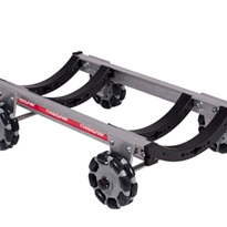 Curved R2 or R3 125mm Rotacaster Wheels | Rotacaster Rover Dolly