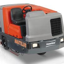 Power Scrubber Sweeper | Nautilus | Powerboss | Hako