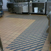 Slippery floor nightmares in commercial kitchens