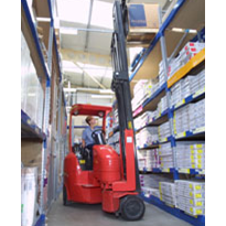 Compact solutions w/out counterbalance & reach trucks