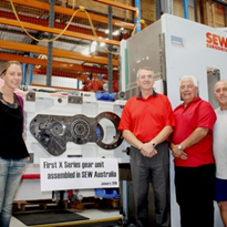 AUS-assembled X-Series industrial gear-units launched