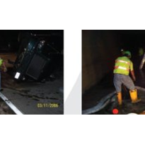 Case Study: Overturned truck - diesel fuel removal