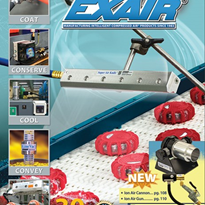 EXAIR's new Catalogue 30 features new cabinet coolers, conveyors, HEPA