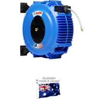 Australian made Food Gases hose reels for the Wine industry