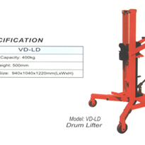 Drum Lifter / Mover with Auto Latching