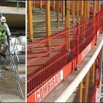 Temporary Site Stairways & Edge Protection