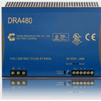 Chinfa Industrial Power Supplies - DRA480