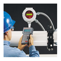 DF868-Fixed-Install. Ultrasonic Liquid Flowmeter