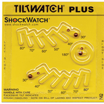 ShockWatch Tilt Sensors - TiltWatch Plus