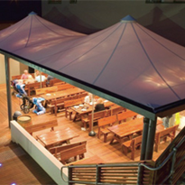 Shade Systems | Fabric Structures | Conical Shape