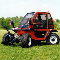 Metrac Hydrostatic H6 X Series Two-axle Hillside Mower