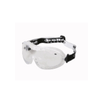 Safety Glasses - Goggle - Nitro Style Range - Goggle - Nitro Clear PVC Frame / Clear Lens