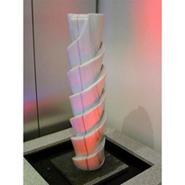 Water Features - Marble Upright Spiral FTN